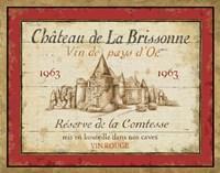 French Wine Labels I Framed Print