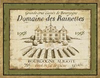 French Wine Label III Fine Art Print