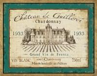 French Wine Label IV Framed Print