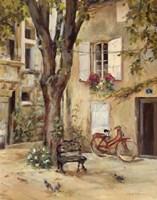 Provence Village I Framed Print