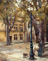 Provence Village II Fine Art Print