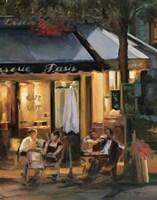 La Brasserie III Fine Art Print