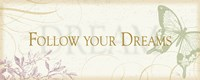 Follow your dreams by Alain Pelletier - various sizes