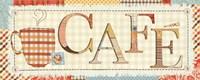 Patchwork Cafe I by Pela Studio - various sizes - $34.99