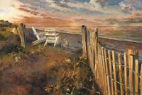 The Beach at Sunset by Marilyn Hageman - various sizes