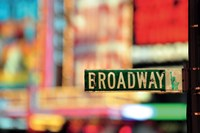 On Broadway Fine Art Print