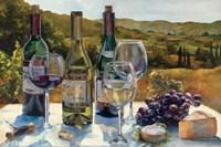 A Wine Tasting Framed Print