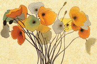 Pumpkin Poppies I Fine Art Print