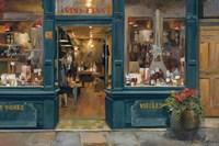 Parisian Wine Shop Fine Art Print