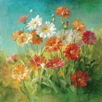 Painted Daisies Fine Art Print