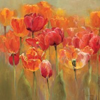 Tulips in the Midst III Crop Fine Art Print