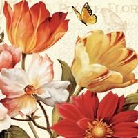 Poesie Florale III Crop by Lisa Audit - various sizes, FulcrumGallery.com brand