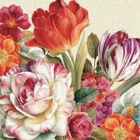 Garden View Tossed - Florals by Lisa Audit - various sizes