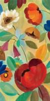 Summer Floral Panel II Framed Print