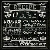 Thoughtful Recipes III Fine Art Print