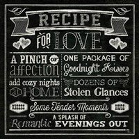 Thoughtful Recipes III Framed Print