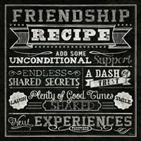 Thoughtful Recipes IV Fine Art Print