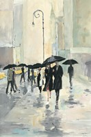 City in the Rain by Avery Tillmon - various sizes