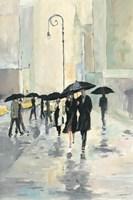 City in the Rain Fine Art Print