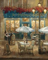 Paris Cafe I Fine Art Print