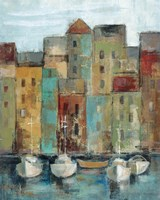 Old Town Port I Fine Art Print