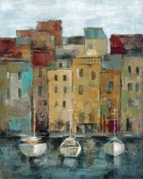 Old Town Port II Fine Art Print