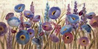 Lupines and Poppies Fine Art Print