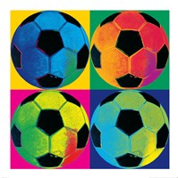 Ball Four-Soccer Framed Print