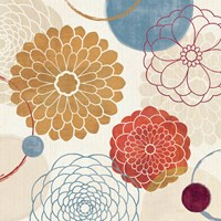 Abstract Bouquet II by Veronique Charron - various sizes