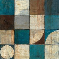 Tango Detail I - Blue Brown by Mike Schick - various sizes