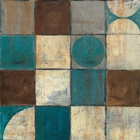 Tango Detail II - Blue Brown by Mike Schick - various sizes