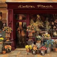 Parisian Shoppe I Fine Art Print