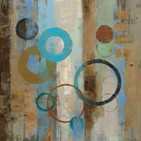Bubble Graffiti I Fine Art Print