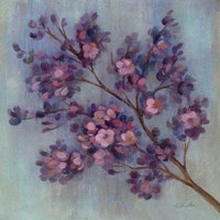 Twilight Cherry Blossoms II Fine Art Print