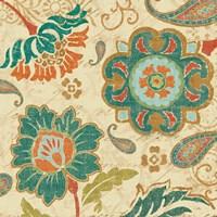 Fall Paisley III Fine Art Print