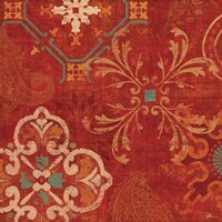 Crimson Stamps II by Pela Studio - various sizes