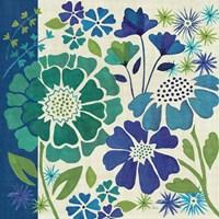 Blue Garden I by Veronique Charron - various sizes