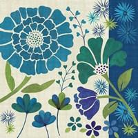 Blue Garden II by Veronique Charron - various sizes