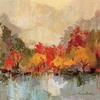 Fall Riverside II Fine Art Print