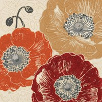 A Poppys Touch III by Daphne Brissonnet - various sizes - $53.99