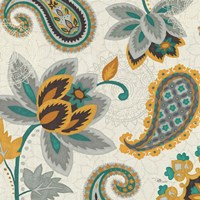 Decorative Nature II Turquoise Cream by Pela Studio - various sizes