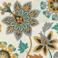 Decorative Nature III Turquoise Cream by Pela Studio - various sizes