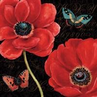 Petals and Wings II Fine Art Print