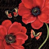 Petals and Wings III Fine Art Print