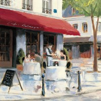 Relaxing at the Cafe I by James Wiens - various sizes