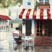 Relaxing at the Cafe II by James Wiens - various sizes
