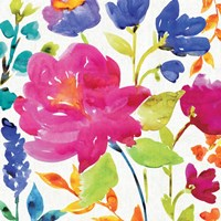Floral Medley II by Wild Apple Portfolio - various sizes