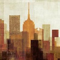 Summer in the City II Fine Art Print