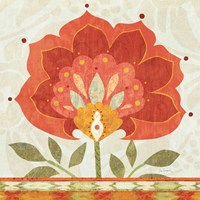 Ikat Bloom I by Sue Schlabach - various sizes