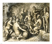 The Judgment of Midas Fine Art Print